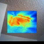 Thermal Image of Bathroom Vent Fan