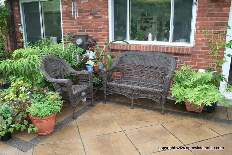 New Wicker Garden Furniture from Target