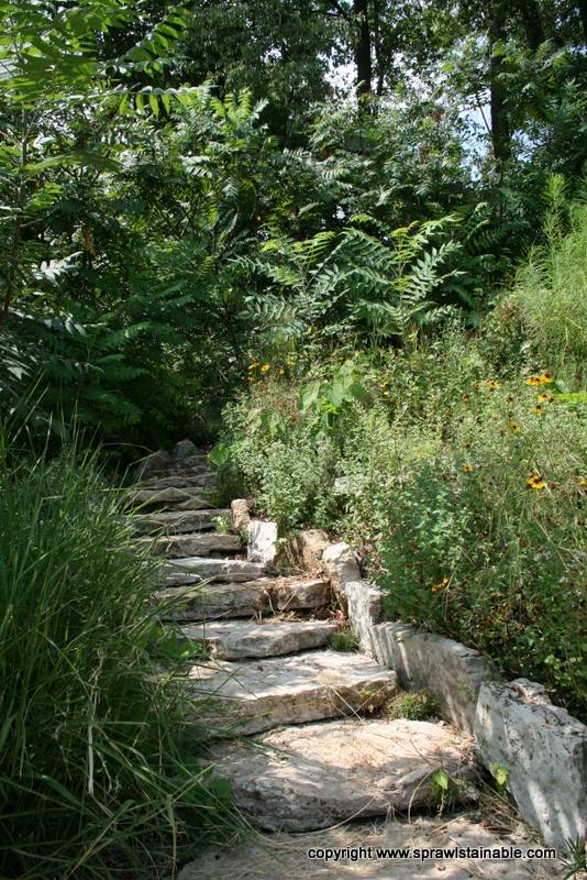 Garden Stone Steps Landscaping